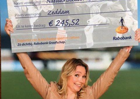 Rabobank Clubkas actie 2018: Uitslag