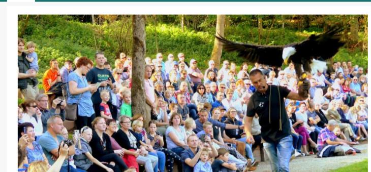 Geldersepost: Roofvogeldemonstratie in Natuurtheater Zeddam